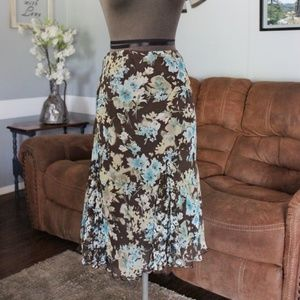Briggs New York Midi Skirt Petite Small